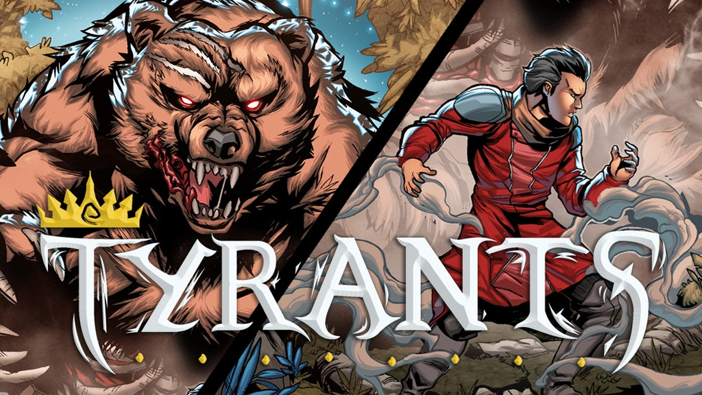 Tyrants #2: A Fantasy-Adventure Comic! project video thumbnail