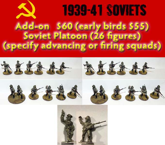 Add on - Soviet Platoon