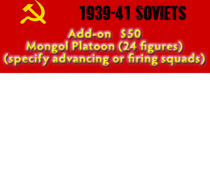 Add on - Mongol Platoon