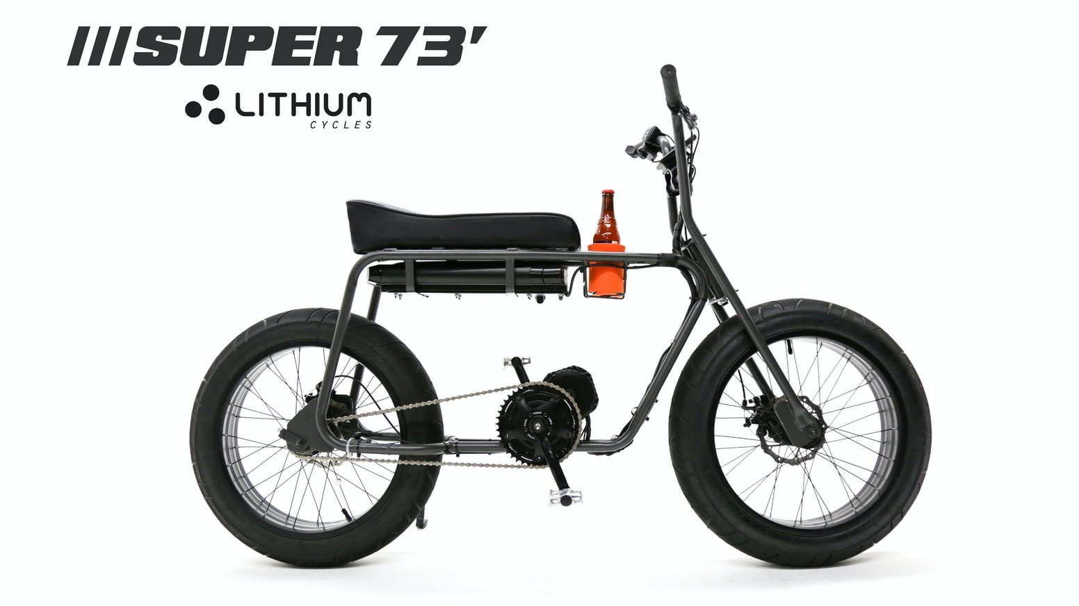 A powerful electric bike full of features. Go anywhere with 1000 watts of power, Californian design, and even a cup holder.