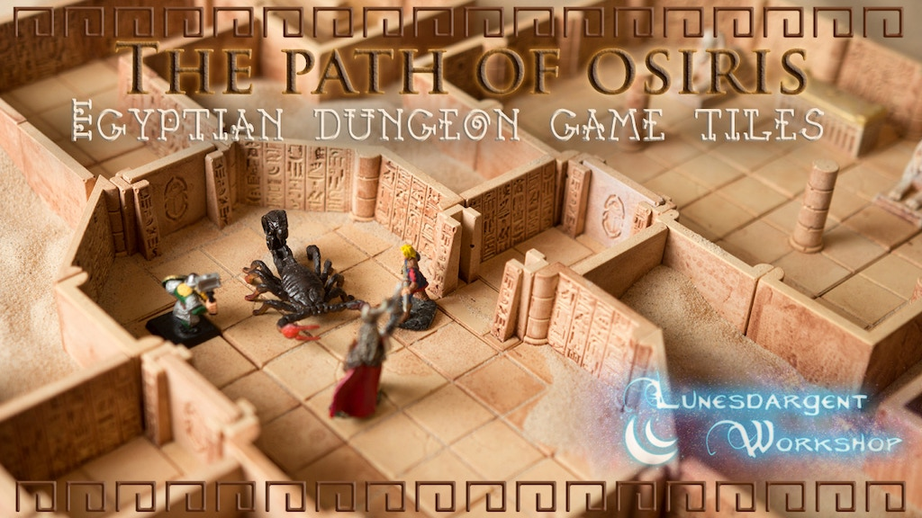 The Path of Osiris : Egyptian Dungeon Game Tiles project video thumbnail