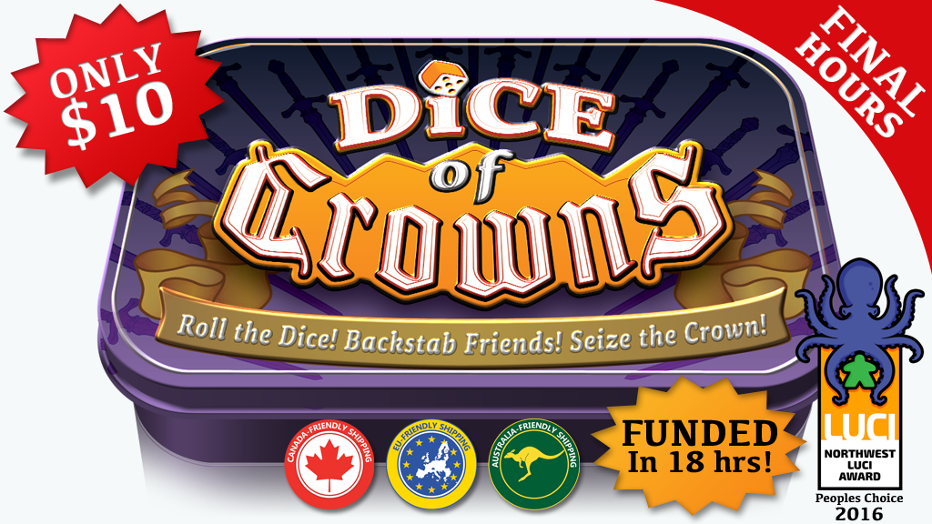 Dice of Crowns project video thumbnail