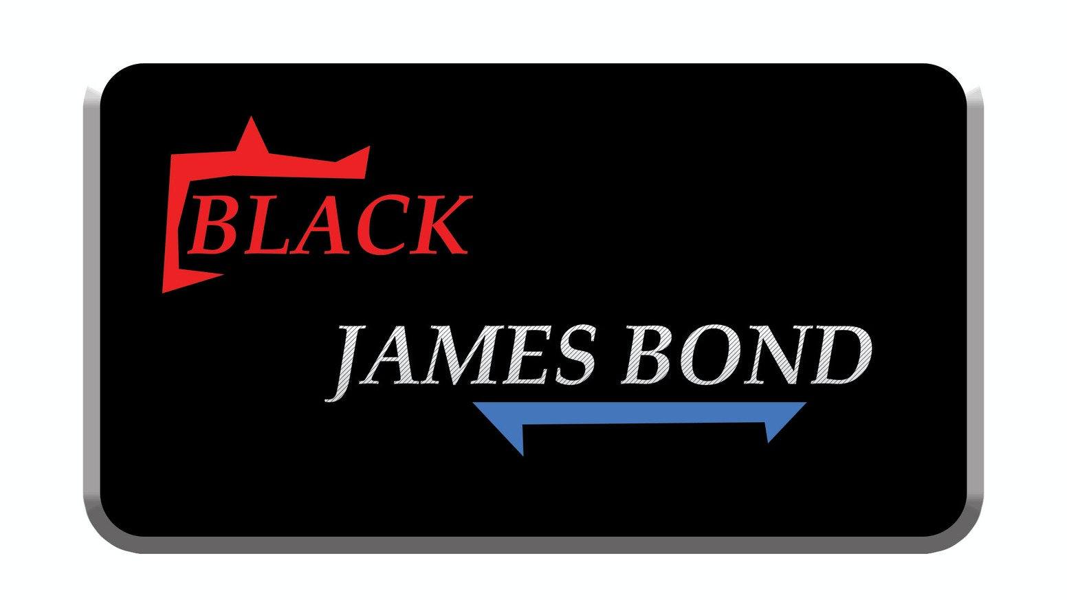 the black james bond by john a jenkins iv kickstarter. Black Bedroom Furniture Sets. Home Design Ideas
