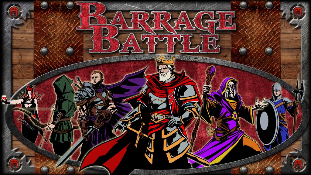 Barrage Battle project video thumbnail