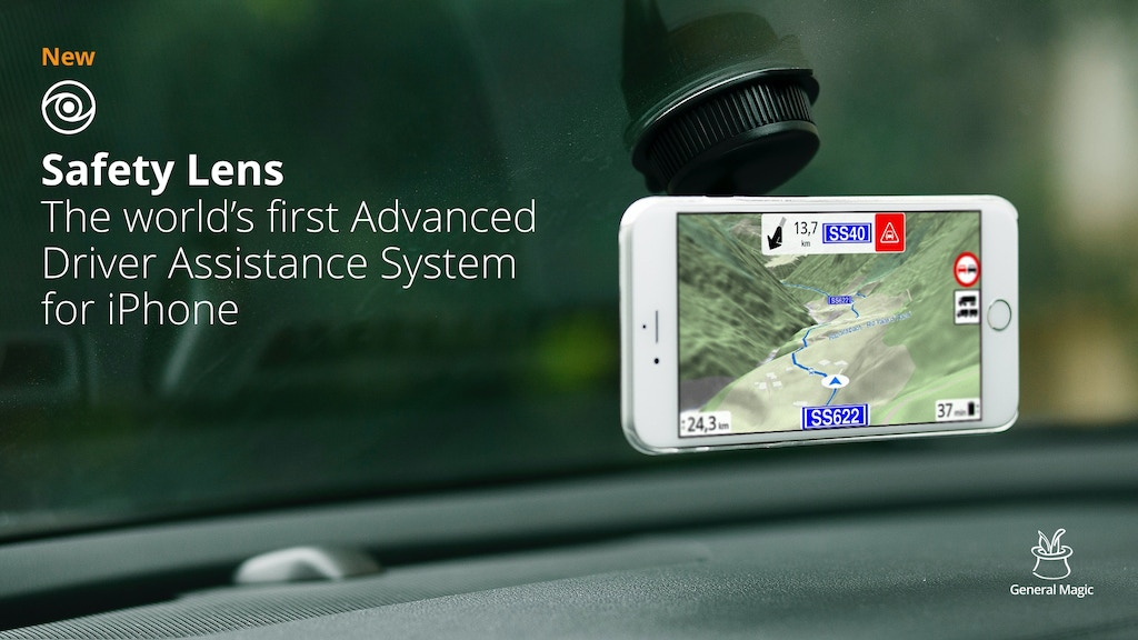 Safety Lens – Advanced Driver Assistance System for iPhone project video thumbnail