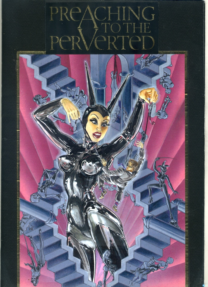 Preaching to the Perverted Comic Book Cover (1997)