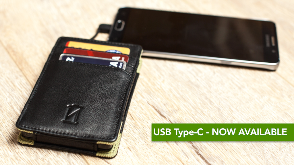 Phone Charging Wallet: 2 Full Recharges + Premium Leather project video thumbnail