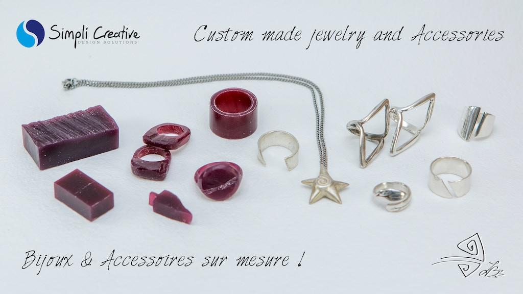 Bijoux et Accessoires Uniques ! Custom made Unique Jewelry project video thumbnail