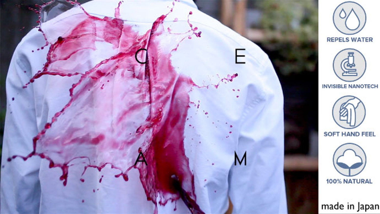 """CEAM brings the latest nanotechnology to fashion.  CEAM is a brand for anyone of any gender who loves """"simplicity and innovation""""."""