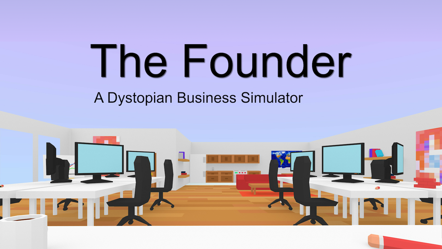 The Founder: A Dystopian Business Simulator by Francis Tseng