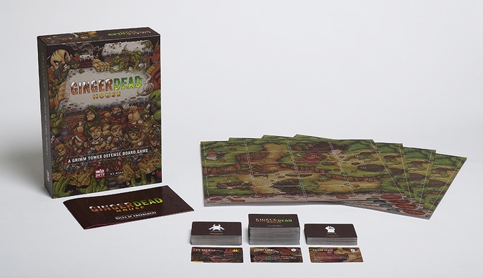 An Epic Tower Defense table top board game that is set in the world of Grimm's Fairy Tales for 2-4 players.