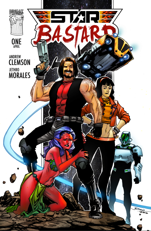 The Standard Cover of Issue 1