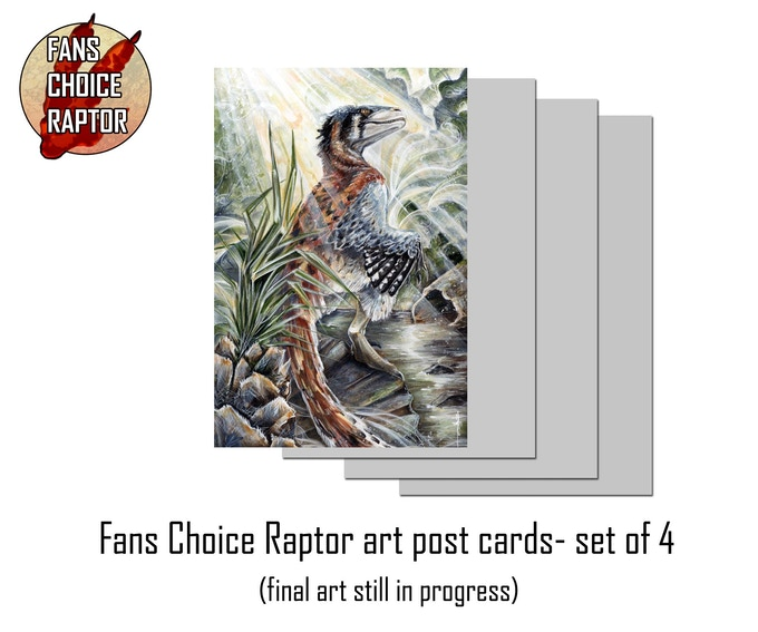 Post card set of 4 (art in progress)