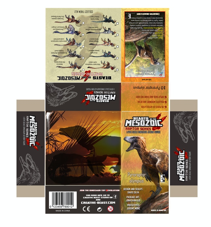 'Pyroraptor package layout'