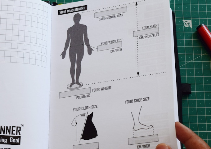 Your weight, clothes and shoe size