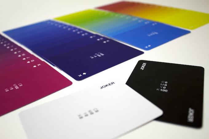 Designer Playing Cards Open Deck + Jokers