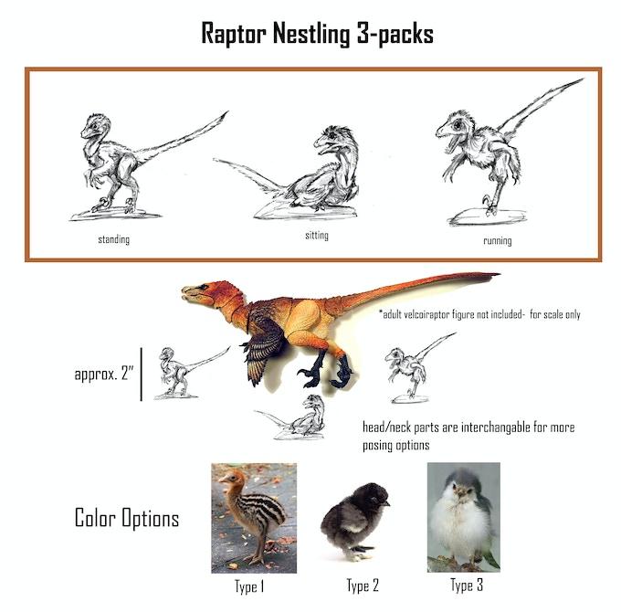 Raptor Nestlings