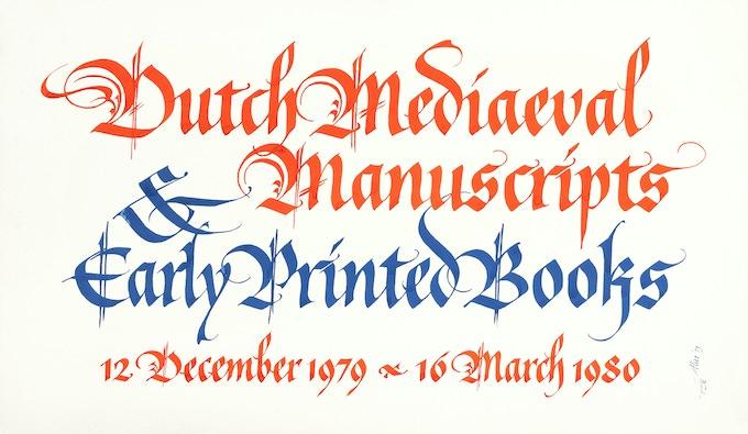 Morgan Library poster, 1979