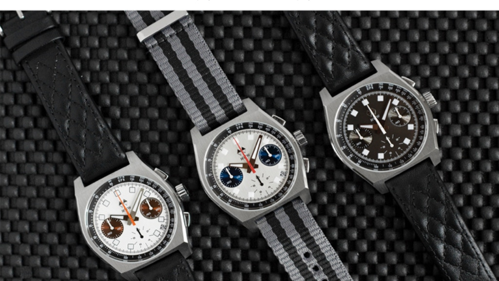 Manchester Watch Work's Chronograph Watch - The Morgan project video thumbnail