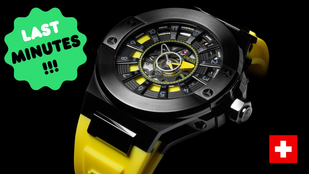 DWISS M2 Automatic Swiss Watch with Innovative Time Reading project video thumbnail