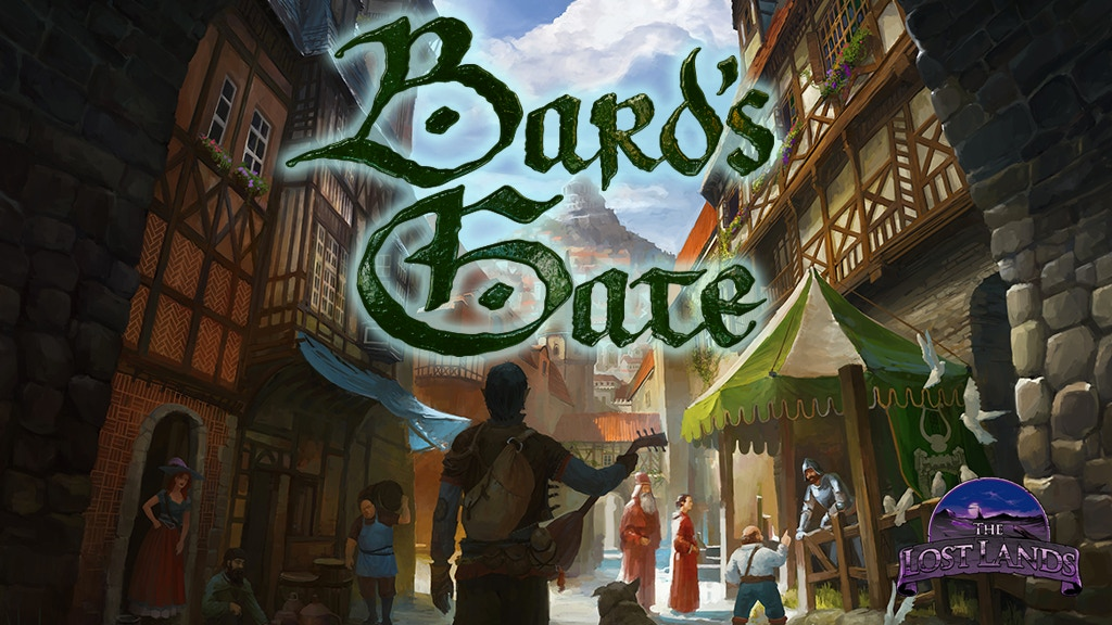 The Lost Lands: Bard's Gate for 5E, Pathfinder, and S&W! project video thumbnail