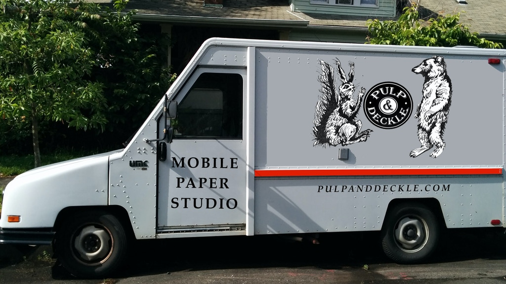 Portland's Pulp & Deckle Papermaking Studio is Going Mobile project video thumbnail
