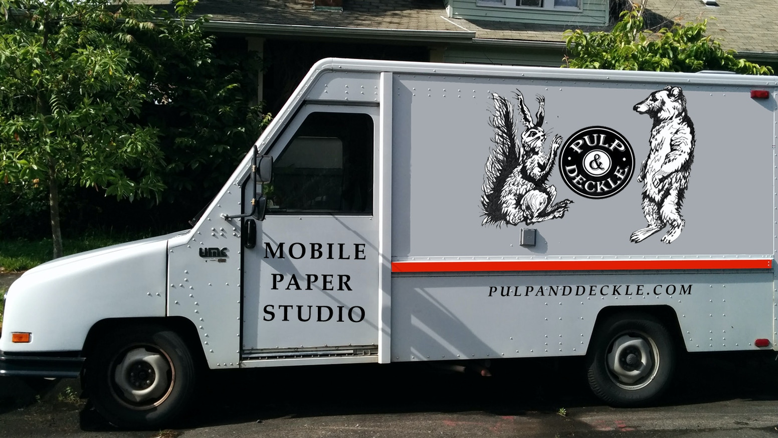 Keep the art of papermaking alive! We are turning a food truck into a mobile studio to teach & sell our wares all around Portland.