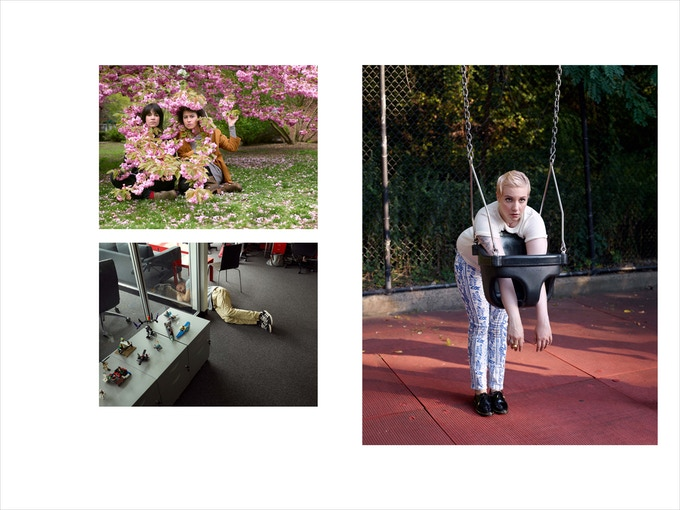 Abbi Jacobson & Ilana Glazer/ Broad City, James Frey, Lena Dunham, 2014