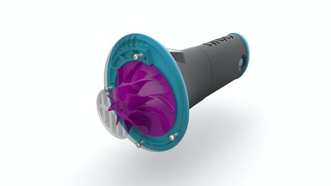 aroo turbine impeller creates more vacuum power