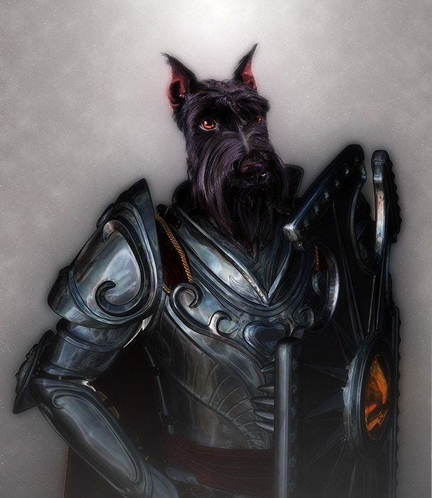 Sir Barkly Strongpaw, Shield of the Queen
