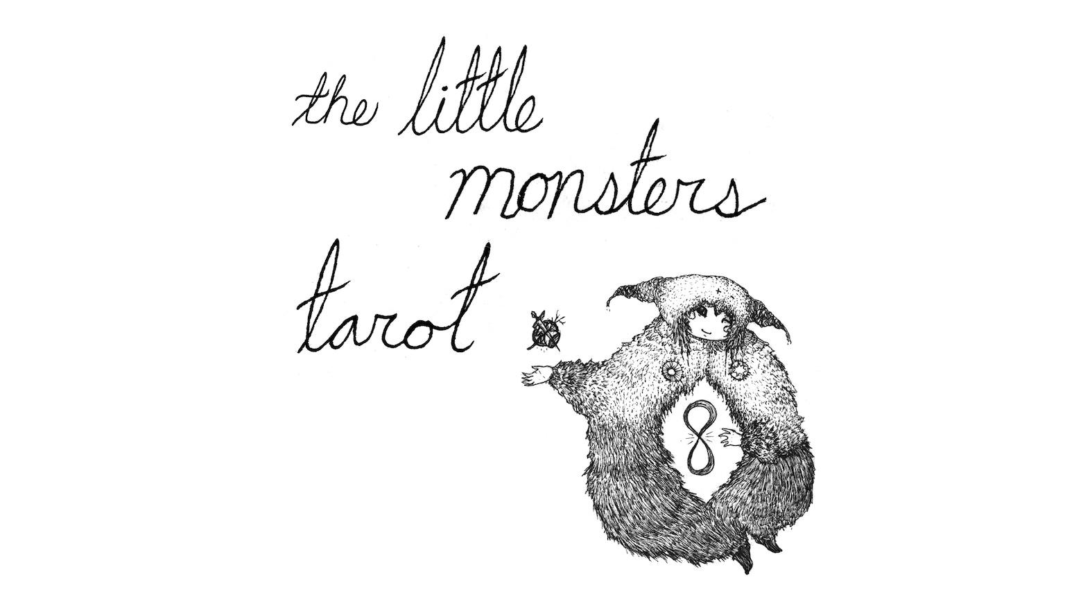 Little Monsters Tarot Deck & Book by Olivia Pepper