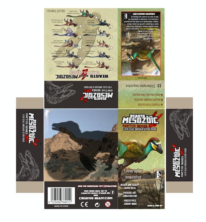 'Linheraptor package layout'