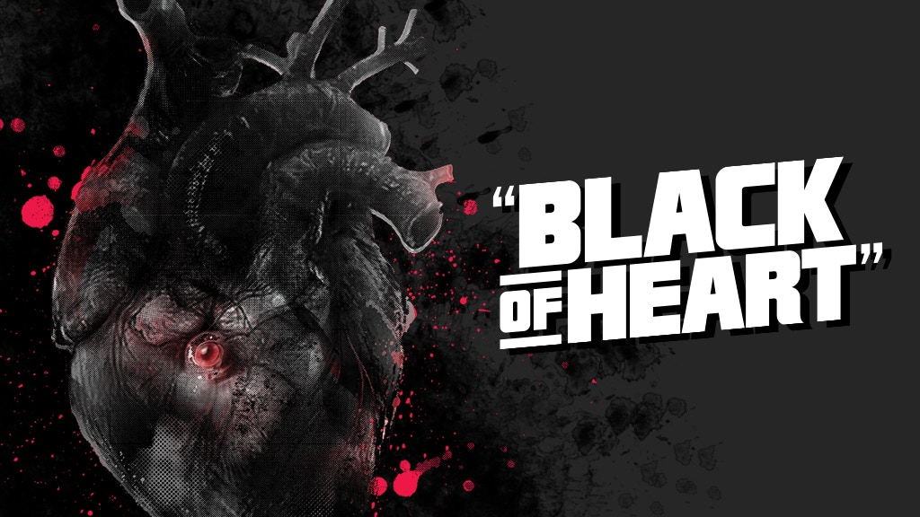 BLACK OF HEART - Graphic Novel project video thumbnail