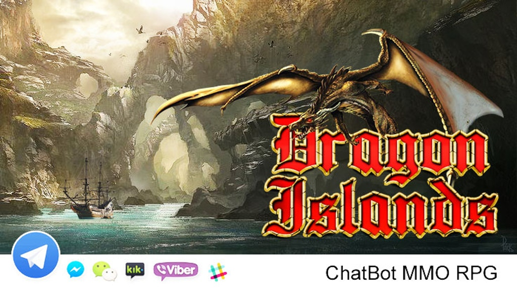 "Project image for Chatbot ""Dragon Islands"" MMORPG"
