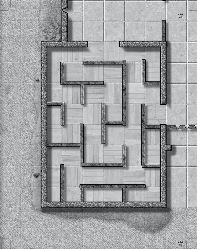 Sample of the Megadungeon 4