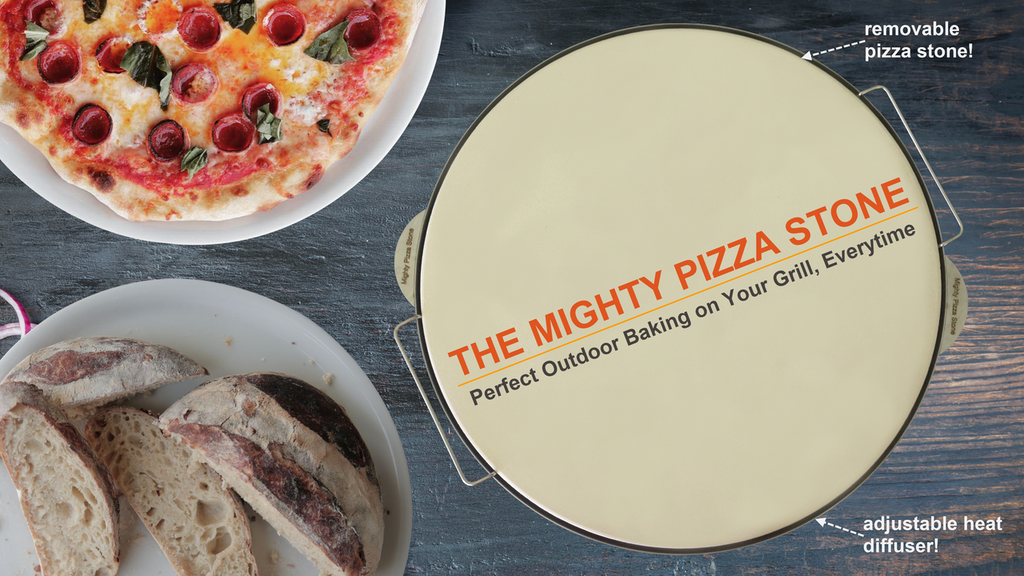 Mighty Pizza Stone - Perfect Pizza Every Time on Your Grill project video thumbnail