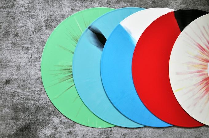 Deluxe Colored Vinyl