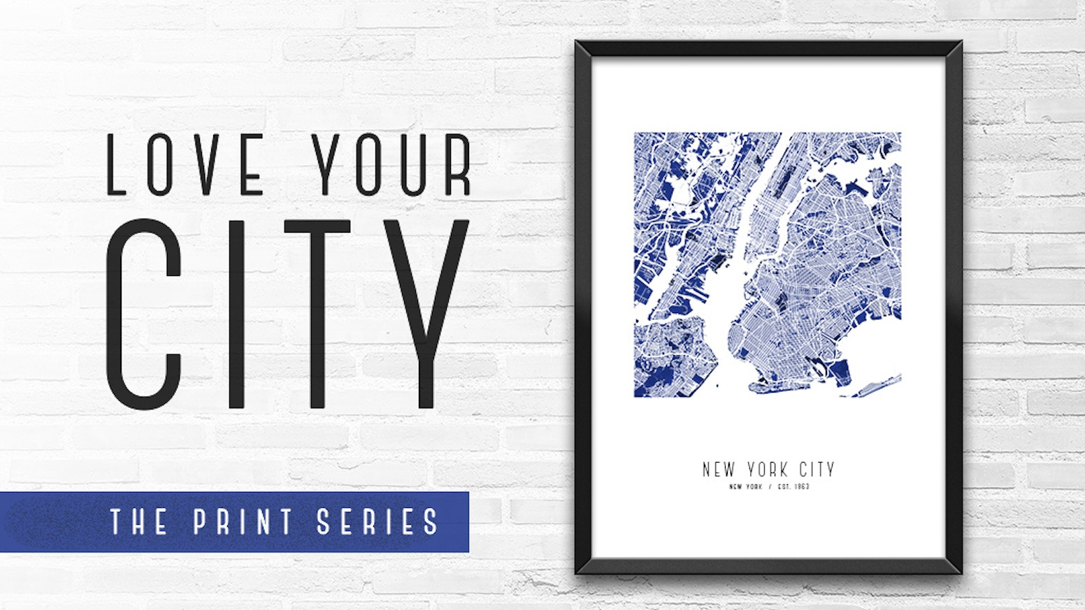Modern Map Poster Series Celebrating Thirty Cities We All Love.