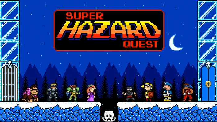 Super Hazard Quest is a table-top card game that, looks and plays like a retro sidescroller. (US & International shipping, EU Friendly)