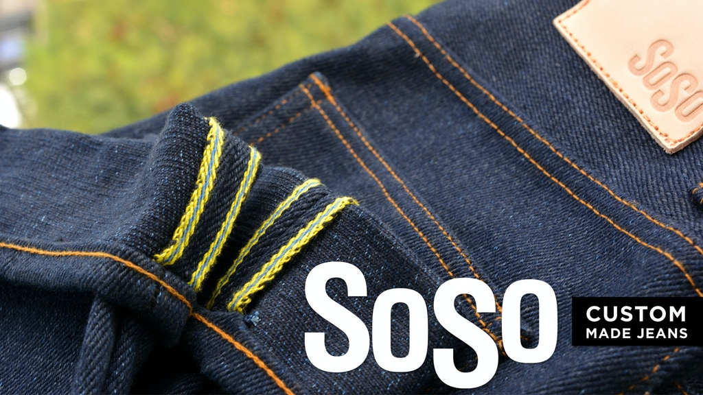 SOSO - Custom Made Jeans project video thumbnail