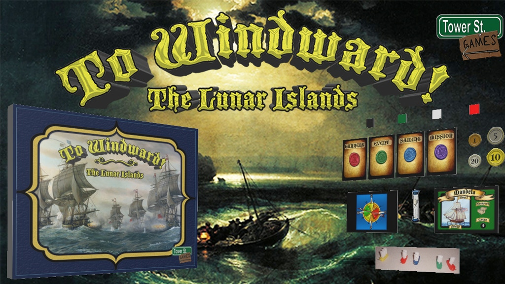 To Windward! - The Lunar Islands project video thumbnail