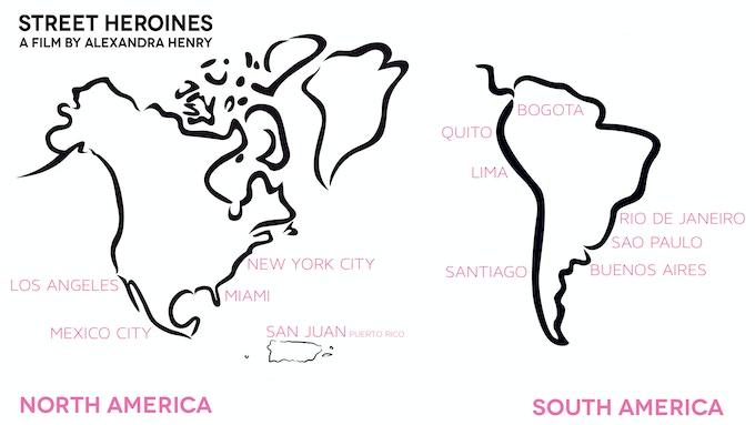 Street Heroines in North & South America