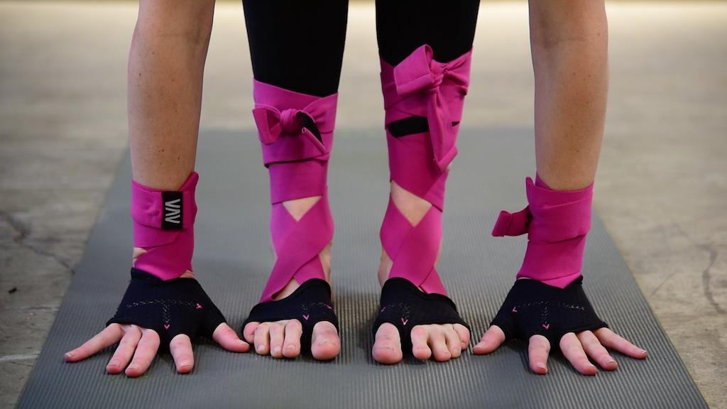 AVA Yoga Bodywear project video thumbnail