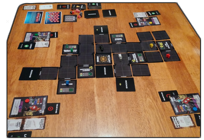 Pre-release prototype pictured in mid-game