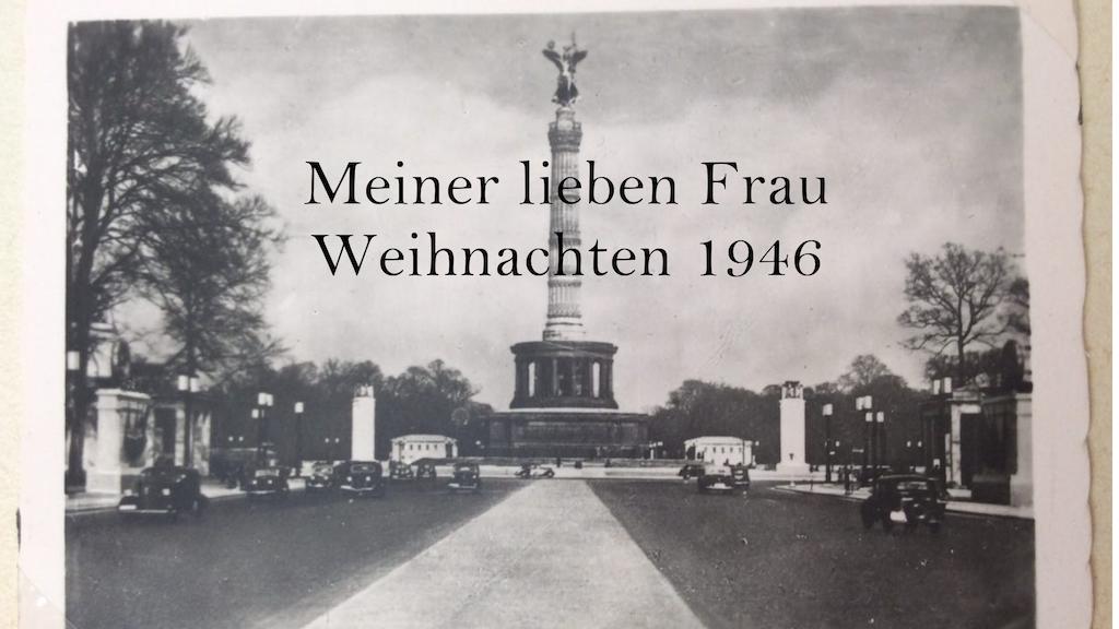 Meiner lieben Frau - Weihnachten 1946 project video thumbnail
