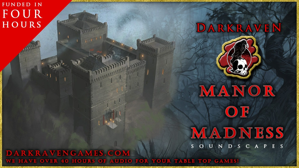 """""""Manor of Madness"""" Soundscapes by Darkraven Europe project video thumbnail"""