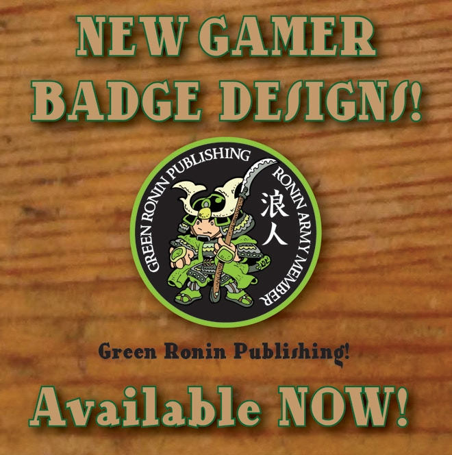 Green Ronin Publishing badge available!