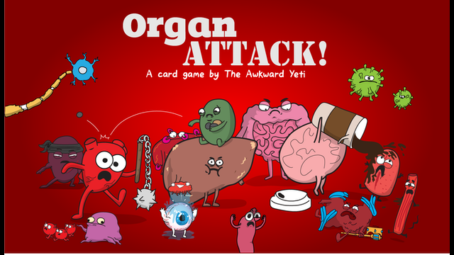 Organattack A Card Game By The Awkward Yeti By Nick
