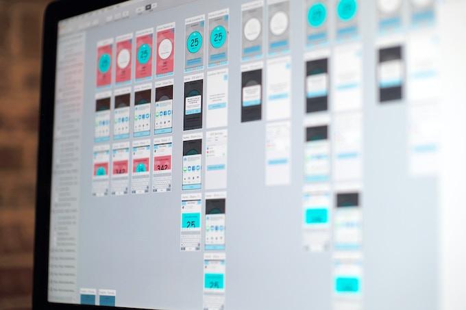 Wireframing the Wynd app