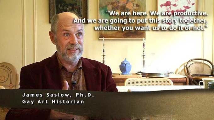 "James Saslow Ph.D., interviewed for ""Before Homosexuals"""